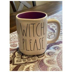 Rae Dunn Witch 🧙♀️ Please Mug